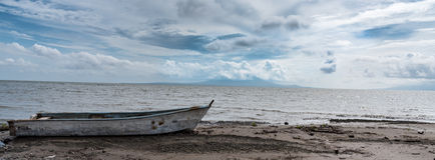 Озеро Никарагуа стоковое изображение rf