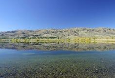 озеро Новая Зеландия hawea Стоковые Изображения RF