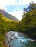 Озеро Новой Зеландии реки Стоковые Фото