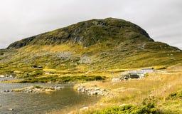 Озеро Норвегии Стоковое фото RF