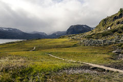 Озеро Норвегии Стоковое Изображение