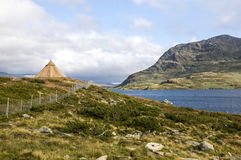 Озеро Норвегии Стоковое Изображение RF