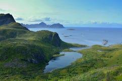 озеро Норвегия Стоковое Изображение