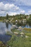 озеро Норвегия Стоковое Фото
