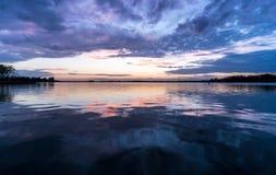 Озеро Норман, Северная Каролина Стоковые Изображения RF