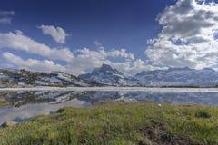 Озеро облак горы Стоковая Фотография
