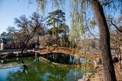 Озеро озер горнолыжный курорт Хэбэя Chengde Стоковые Изображения