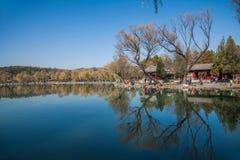 Озеро озер горнолыжный курорт Хэбэя Chengde Стоковое Фото
