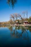 Озеро озер горнолыжный курорт Хэбэя Chengde Стоковые Изображения RF