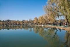 Озеро озер горнолыжный курорт Хэбэя Chengde Стоковое Изображение RF