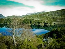 Озеро около Bariloche Стоковая Фотография