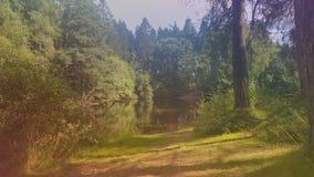 Озеро около ruthin красивого Стоковое фото RF
