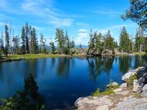 Озеро оправ Стоковое Изображение RF