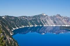 озеро Орегон кратера Стоковые Фотографии RF