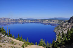 озеро Орегон кратера Стоковое фото RF