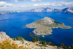 озеро Орегон кратера Стоковые Изображения