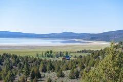 Озеро орл, Калифорния Стоковая Фотография
