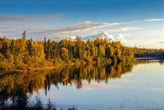 озеро осени Аляски бурное стоковая фотография rf