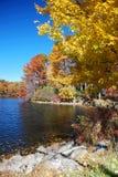 озеро осени Стоковая Фотография