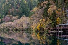 Озеро осени. Стоковая Фотография RF