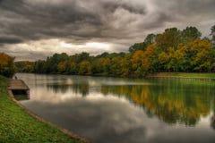 озеро осени Стоковое фото RF