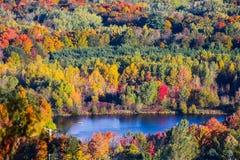 Озеро осен Стоковое Изображение RF