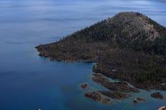 озеро острова Стоковое фото RF