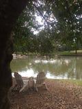 озеро ослабляя Стоковые Фотографии RF