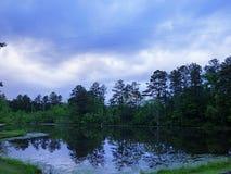Озеро отражения Стоковые Изображения RF