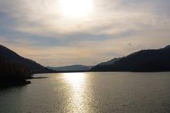 Озеро от Paltinis Стоковое Изображение RF