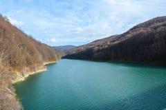Озеро от Paltinis Стоковые Фото
