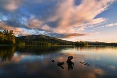 Озеро ольшаник, WA Стоковое Фото