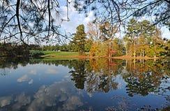 озеро падения Стоковое Изображение