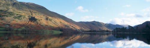 озеро панорамное стоковые изображения rf