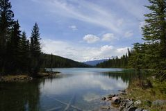 озеро панорамное Стоковое фото RF