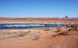 Озеро Пауэлл, Аризона, США Стоковая Фотография RF
