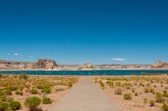 Озеро Пауэлл в Аризоне, США стоковые фотографии rf