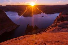 Озеро Пауэлл Стоковые Изображения