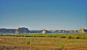 Озеро Пауэлл Стоковое Изображение