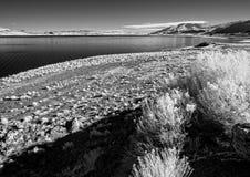 Озеро пирамидк, Невада Стоковые Фотографии RF