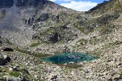 Озеро ` Порта de Ratera ` Стоковые Фотографии RF