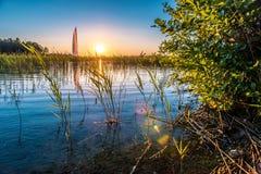 Озеро природ Стоковое фото RF