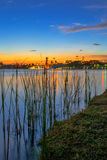 Озеро Путраджайя Стоковое Фото