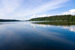 озеро пущи стоковое фото rf