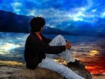 озеро рая Стоковые Изображения RF