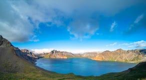 Озеро ра горы Changbai стоковая фотография