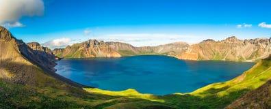 Озеро ра горы Changbai стоковое фото rf