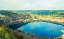 Озеро радон в Migiya Украине Стоковые Фото