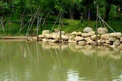 озеро рисуночное Стоковое Изображение RF