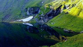 Озеро Румыния Balea Стоковые Изображения